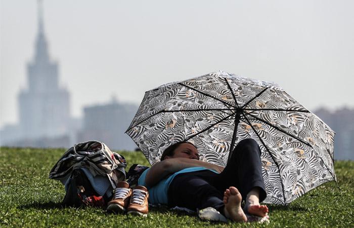 В Москве зафиксировали температурный рекорд года