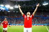 Сборная России по футболу впервые в истории вышла в плей-офф чемпионата мира