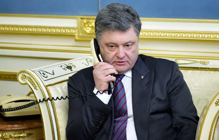 Порошенко второй раз за месяц поговорил с Путиным по телефону