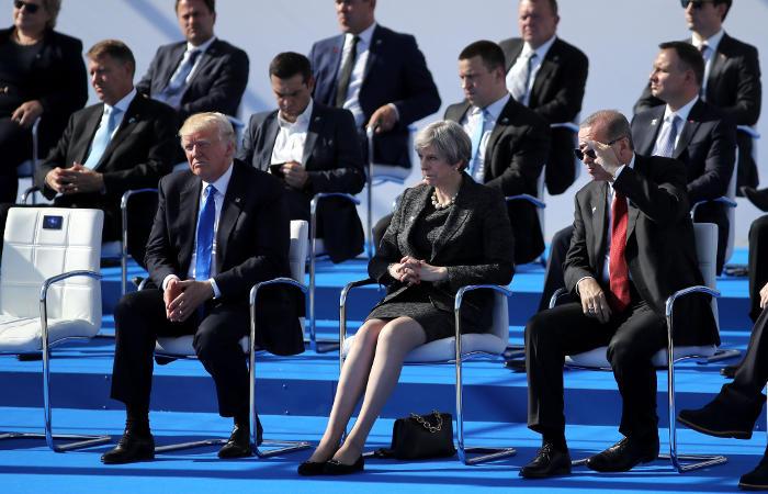 В Лондоне обеспокоились возможностью встречи Путина и Трампа