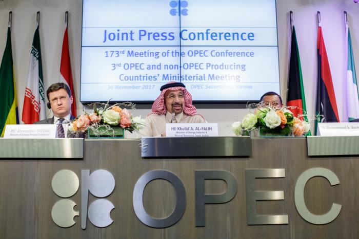 Комитет ОПЕК+ рекомендовал увеличить добычу нефти на 1 млн б/с