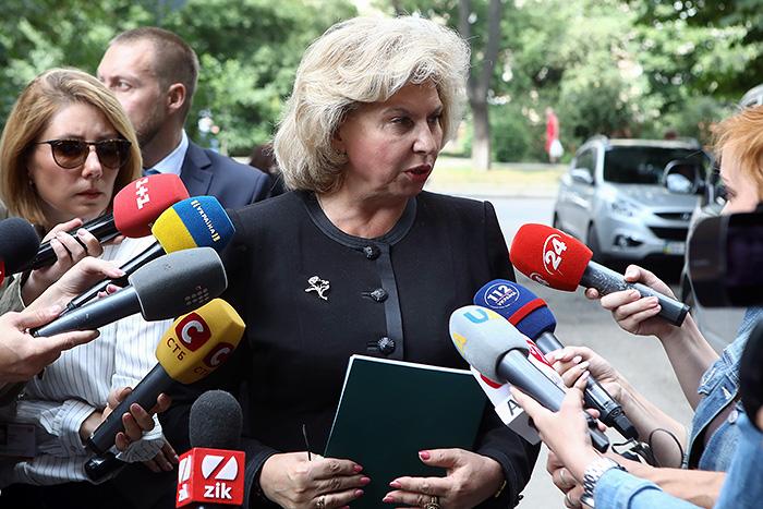 Москалькова опасается, не постигнет ли Сенцова участь Надежды Савченко