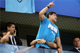 Марадона прилетел в Москву после госпитализации