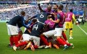 Сборная Франции победила Аргентину и вышла в четвертьфинал