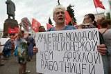Митинги против повышения пенсионного возраста прошли в регионах ЦФО