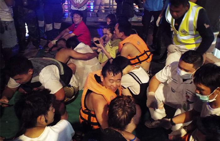 ВТаиланде при крушении лодки без вести пропали 49 туристов