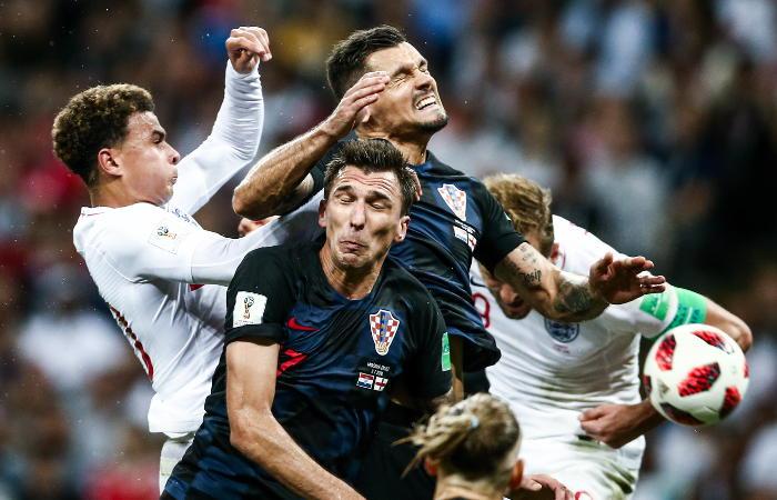 Футбол ч м франция хорватия