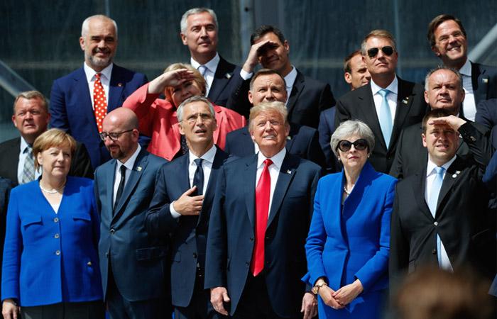 На саммите НАТО назвали действия РФ угрозой для евроатлантической безопасности
