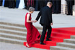 Дональд Трамп и Тереза Мэй перед ужином у Бленхеймского дворца в графстве Оксфордшир