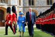 Дональд Трамп встретился с королевой Великобритании Елизаветой II в Виндзорском замке в графстве Беркшир