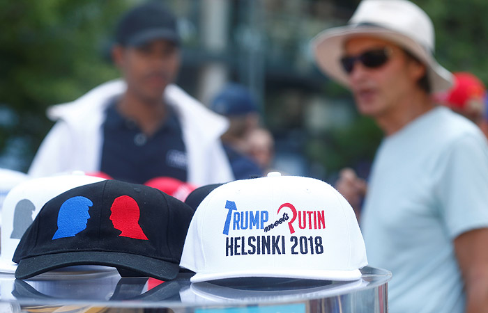 США: ВХельсинки начались акции приверженцев ипротивников саммита РФ