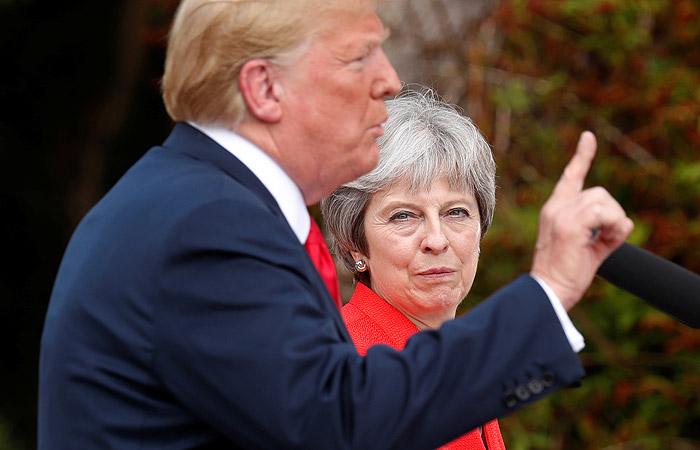 Трамп предложил Мэй судиться с ЕС вместо переговоров по Brexit