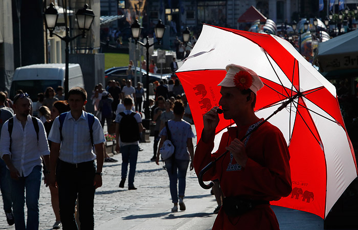 Москву и Подмосковье на будущей неделе накроет дождливая погода