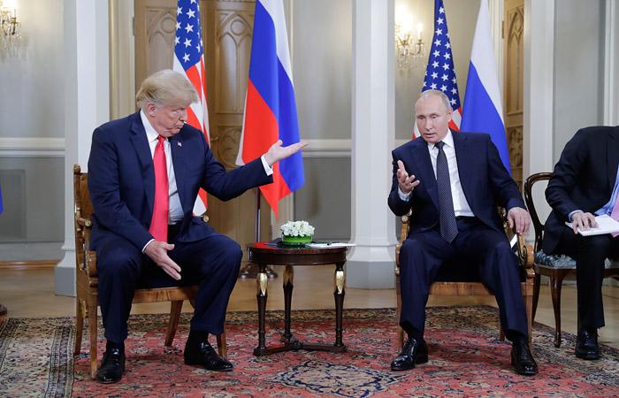Путин назвал  весьма успешными переговоры с Трампом
