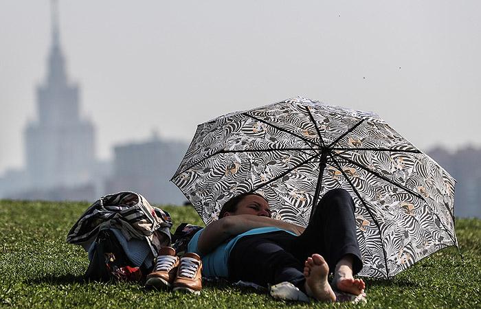 В Москву на смену дождям придет жара