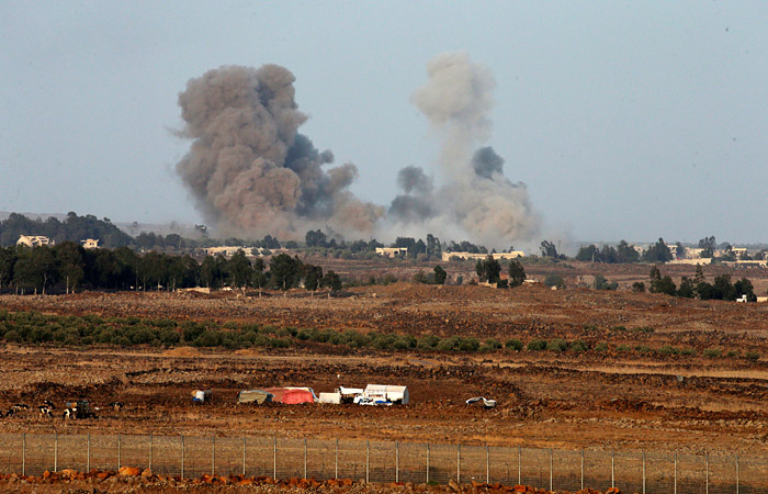 Пилот сбитого Израилем Су-22 погиб