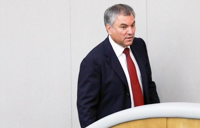 Володин заявил, что вопрос об улучшении пенсионной системы не решить на митингах