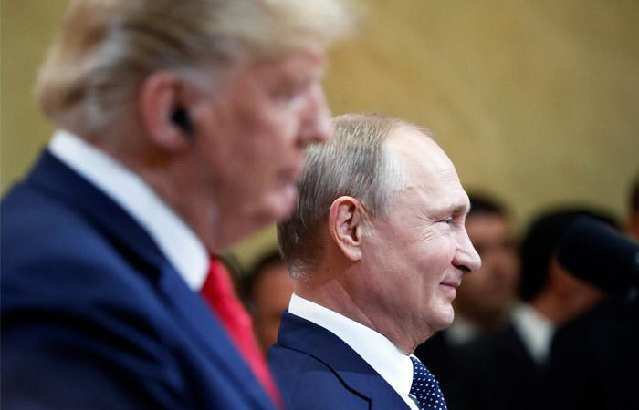 Путин пригласил Трампа в Москву