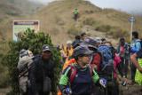 Более 500 человек эвакуированы с горы Ринджани в Индонезии