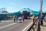 Движение на Ярославском шоссе в районе обрушения перехода восстановлено