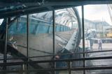 Надземный переход обрушился на Ярославском шоссе в районе Пушкино и перекрыл движение
