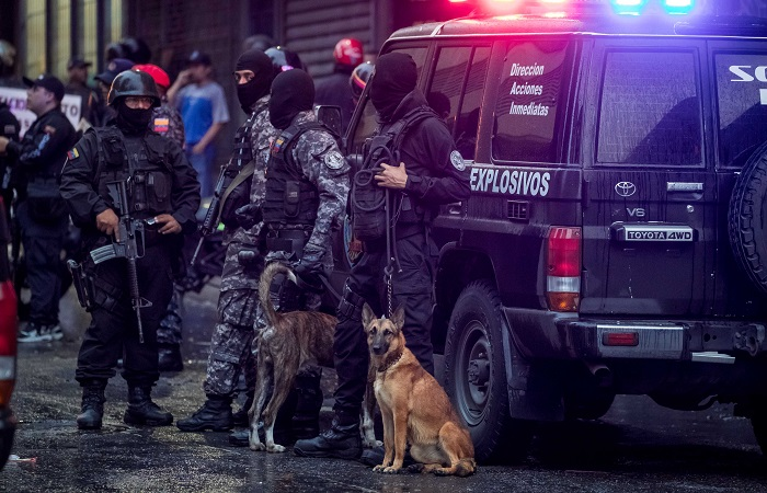 Мадуро обвинил в покушении на себя оппозицию и президента Колумбии