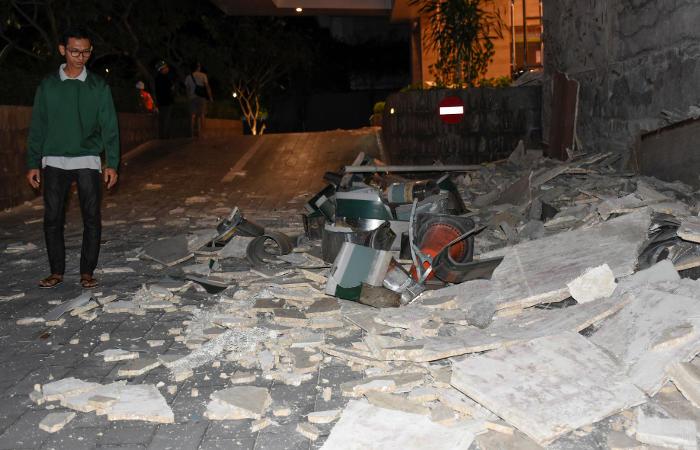 Количество жертв землетрясения в Индонезии превысило 80 человек