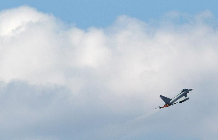 В Эстонии нашли возможное место падения ракеты, выпущенной испанским истребителем