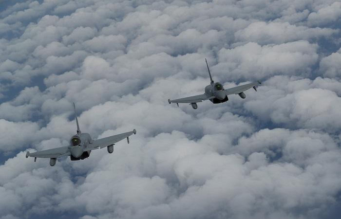 """Испанские ВВС в Эстонии вынуждены уйти """"в запас"""" после инцидента с истребителем"""
