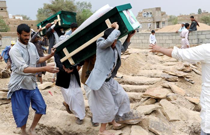 Похороны в Йемене переросли в антиамериканские протесты