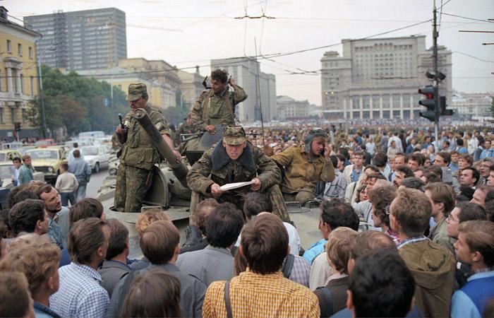 Россияне высказали отношение к участникам путча 1991 года
