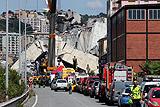 Число жертв обрушения моста в Генуе возросло до 41 человека