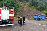 Ростуризм сообщил об отсутствии россиян в упавшем в ущелье автобусе в Болгарии
