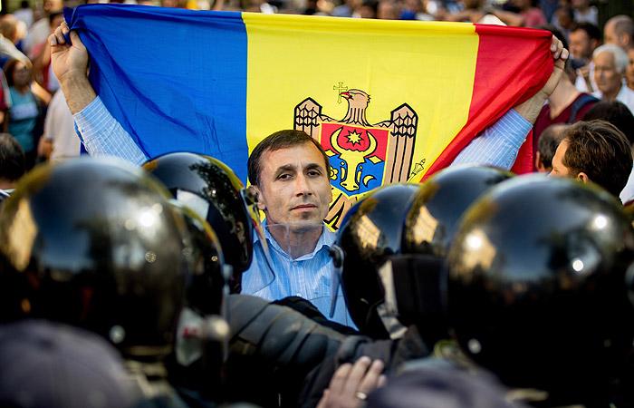 МВД Молдавии выявило подготовку массовых беспорядков во время акции протеста