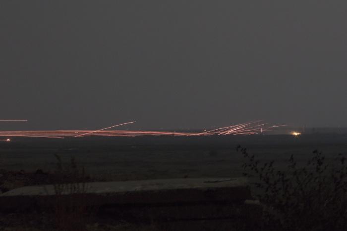 Военная полиция РФ очистила демилитаризованную зону у Голанских высот от тяжелого вооружения