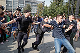 МВД сообщило о 2 тыс. участников акции оппозиции в центре Москвы
