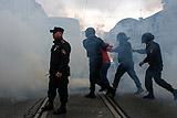 МВД сообщило о задержании около 100 человек в ходе акции в Петербурге