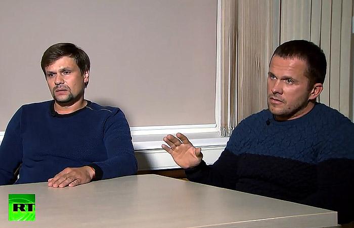 В Лондоне сочли интервью Петрова и Боширова наказанием за проваленную операцию
