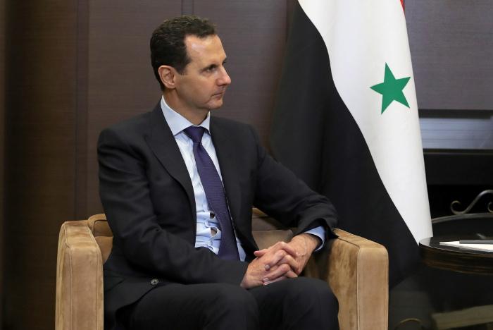 Асад направил Путину телеграмму с соболезнованиями в связи с крушением Ил-20
