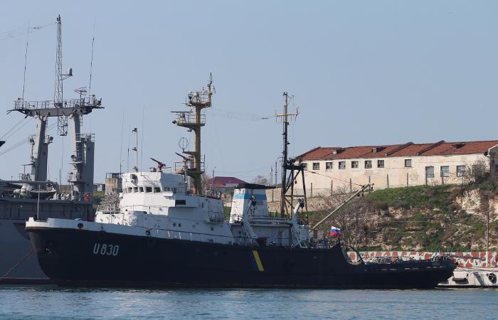 ФСБ сообщила о заходе украинских кораблей в исключительную экономическую зону РФ