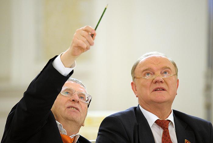 КПРФ и ЛДПР создадут коалиционное правительство в трех регионах