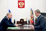 Путин предложил Сергею Морозову временно возглавить Астраханскую область