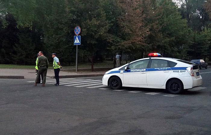 ВДонецке произошел взрыв, среди пострадавших кандидат напост «главы ДНР»