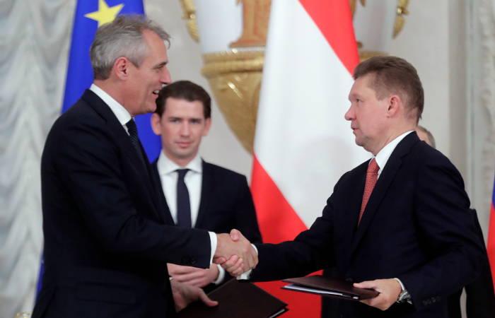 """""""Газпром"""" и концерн OMV подписали соглашение о продаже доли в Уренгойском месторождении"""