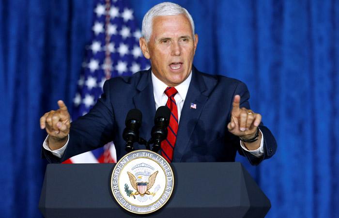 Вице-президент США обвинит Китай во вмешательстве в выборы