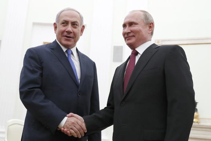 Переговоры Путина и Нетаньяху пройдут в России