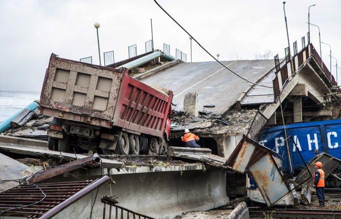 Движение поездов в Приамурье после обрушения виадука восстановлено