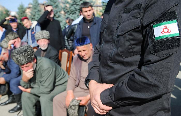 Протестный митинг в Ингушетии продлили на два дня