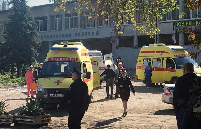 СКР возбудил уголовное дело о теракте в связи со взрывом в колледже Керчи
