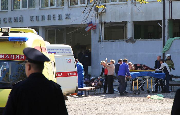 Напавший наКерченский колледж ученик осенью получил разрешение наохотничье оружие